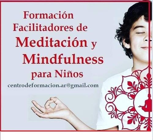 instructorado de meditación y mindfulness para niños on line