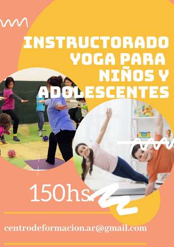 instructorado yoga para niños y adolescentes a distancia