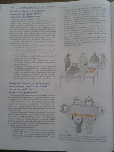 instrumentación quirúrgica fuller 5ta ed original
