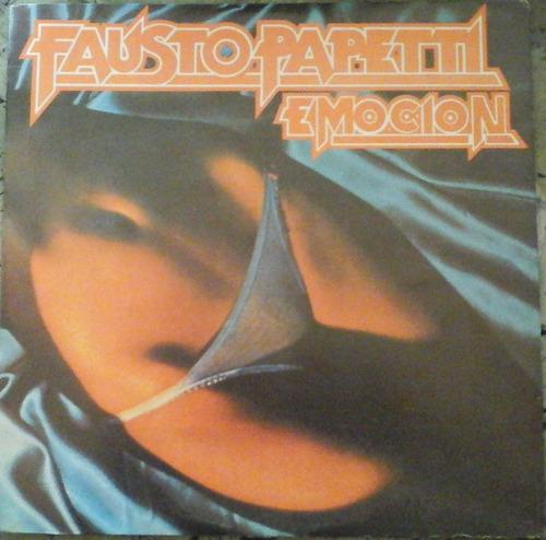 instrumental - fausto papetti - emocion, importado
