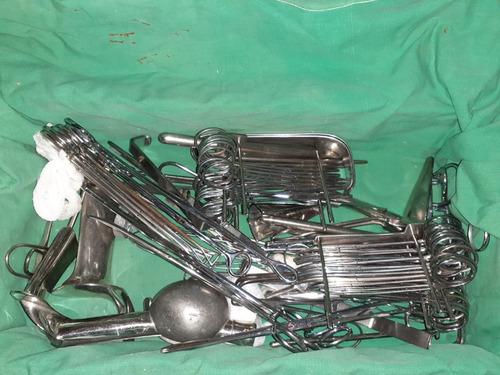 instrumental quirurgico y cajas tamborers