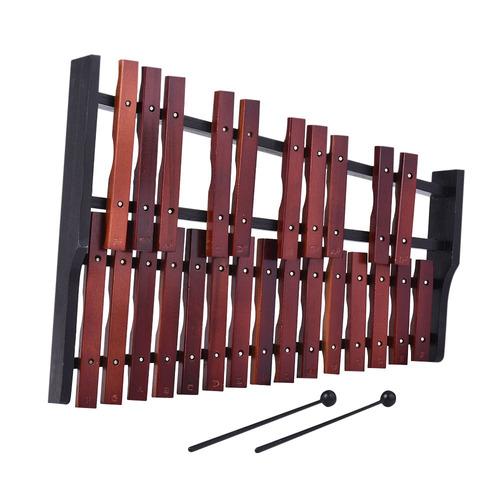 instrumento musical de percusión de xilófono de 25 notas