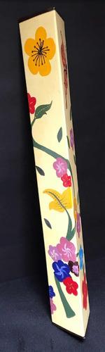 instrumento musical palo de lluvia mariposa