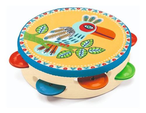 instrumento niños - animambo pandereta  - djeco -