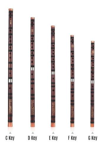 instrumento tradicional chino de la clave dizi flauta de