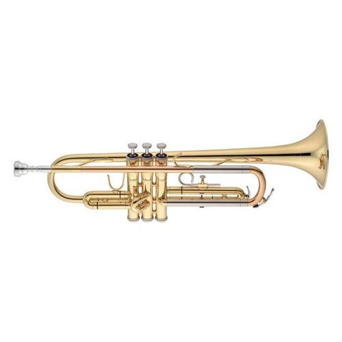 Instrumento de viento jupiter trompeta jtr500q sib for Casa amarilla instrumentos