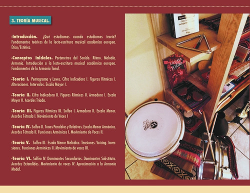 instrumentos cursos clases música