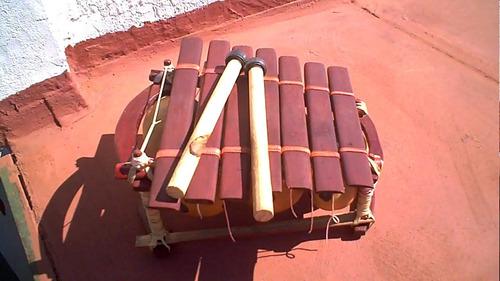 instrumentos étnicos africanos - balafón-marimba