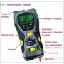 Detector De Metales, Madera, Cables Medidor Distancia Laser