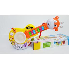 Guitarra Musical Infantil Bebe Sonidos Animales