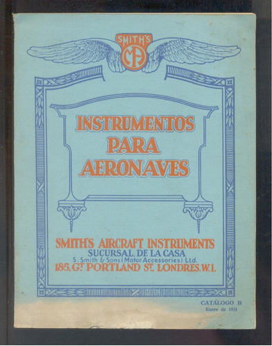 instrumentos para aeronaves - smith´s aircraft instruments