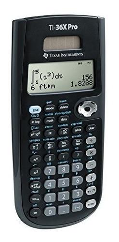 instrumentos texas ti36 x pro calculadora científica wlm neg
