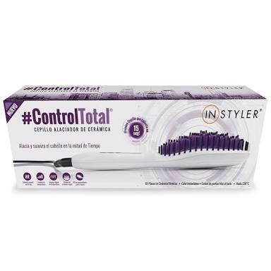 Instyler Cepillo Electrico Alaciador Straight Up Original ... 2bce83ac345e