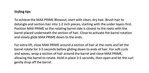 instyler max 2-way hierro giratorio, purpura- envío gratis
