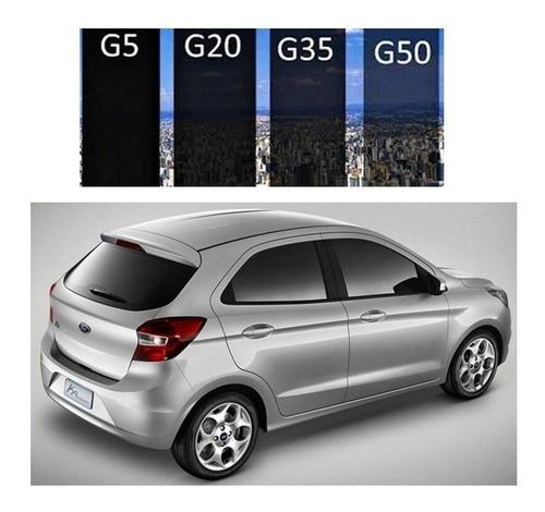 insulfilm ford ka 2014 15 g5 g20 g35 instalamos em seu carro