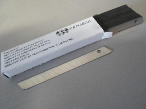 insulfilm - laminas p/ estilete-caixa c/ 50 unidades