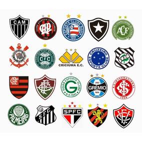 07f961f5075f0 Coleção De Bordados Times De Futebol no Mercado Livre Brasil