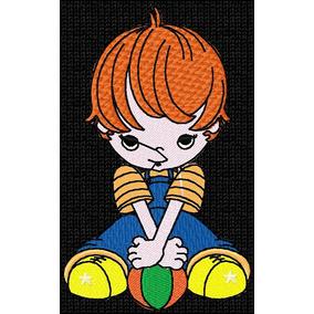 a9f7401d5178c Desenho Para Bordar Bola Em Jef - Indústria Têxtil e Confecção no Mercado  Livre Brasil