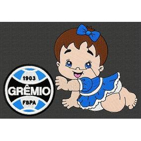 18c6bca1f0801 Bordado Gremio no Mercado Livre Brasil