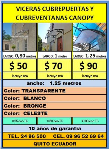 intalac viceras canopy $ 55