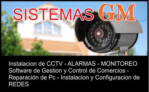 intalacion y mantenimiento de camaras de seguridad - cctv -