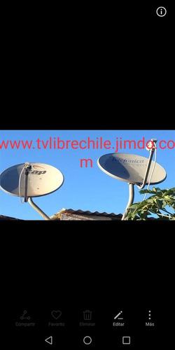 intalacion y orientación de antena satelital