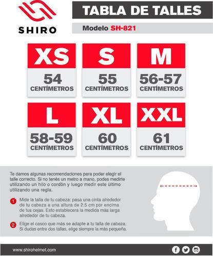 integral shiro casco moto