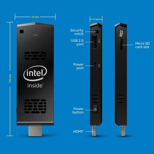 intel compute stick ® stck1a32wfc