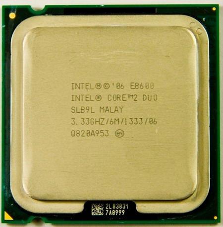 intel core 2 duo e8600 (3.33 ghz) mejor que el e8500 e8400