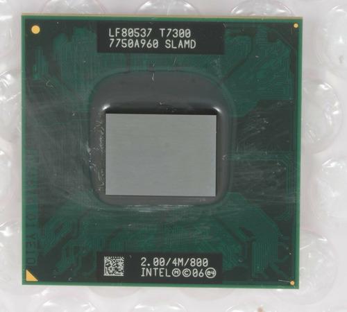 intel core 2 duo t7300 2ghz dual-core cpu procesador