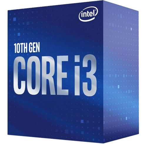 intel core i3 10100 10ma micro procesador gamer 1200 tranza