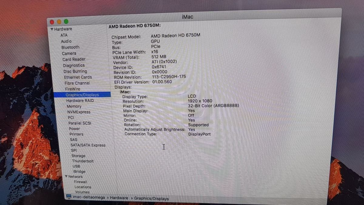 iMac Apple 21 Intel Core I5 Hd 500g 4g Sem Teclado E Mouse