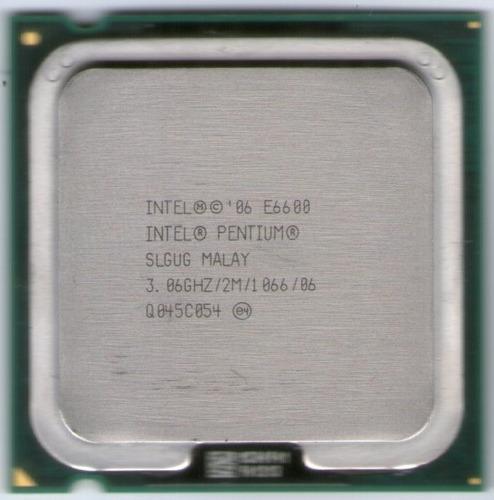 intel core) procesador