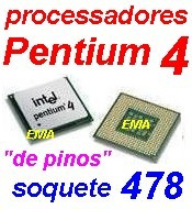 intel pentium 4 soquete 478 - 2.8 ghz fsb 533 cache 512