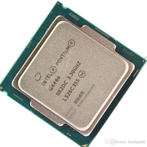 intel pentium g4400 cpu 3.3ghz 3mb 54w soc 1151caja