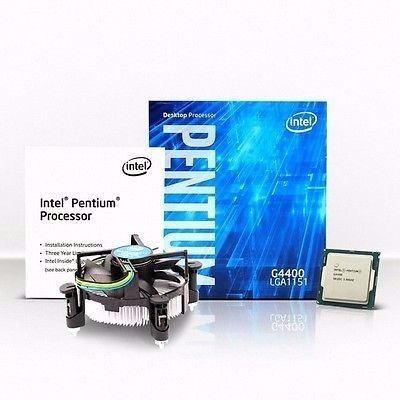 intel pentium g4400 dual-core skylake 3,3 ghz. 1151 vi