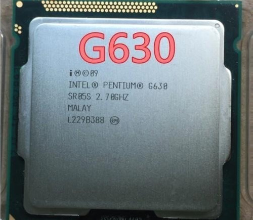 intel pentium g630 dual core 2.7 ghz socket 1155