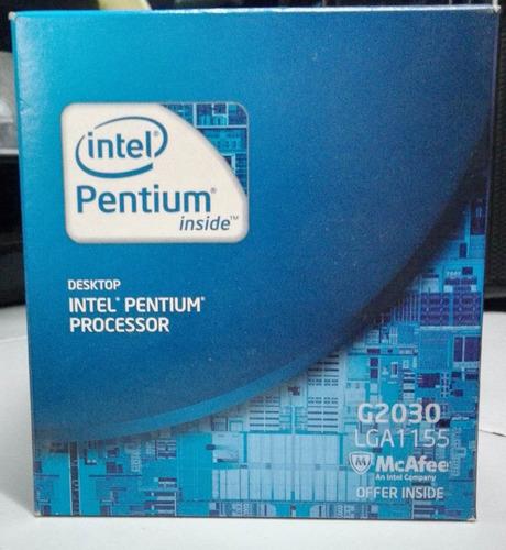 intel pentium inside processor g2030 lga1155
