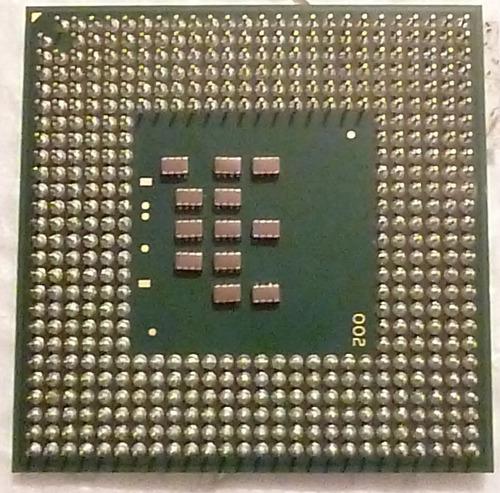 intel pentium m procesador 725 2m cache, 1.60a ghz, 400 mhz
