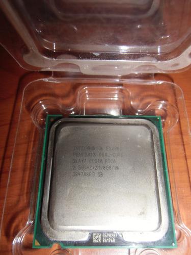 intel® pentium® processor e5200 (2m cache, 2.50 ghz, 800mhz)