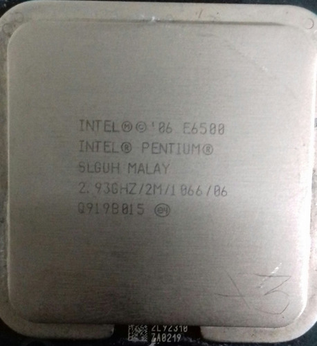 intel® pentium® processor e6500  (2m cache, 2.93 ghz, 1066 f