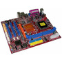 Placa Madre P4m800-m7a, Socket 775, + Un Microprocesador