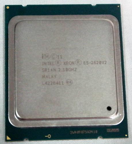 intel xeon e5-2620v2 (15m cache, 2.10 ghz) nuevo