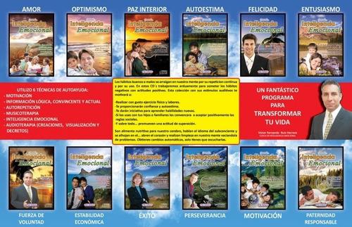 inteligencia emocional -12 cds - con duracion de 45 a