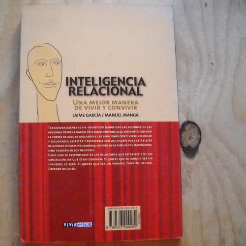inteligencia relacional, jaime garcia, manuel manga, ed. ver