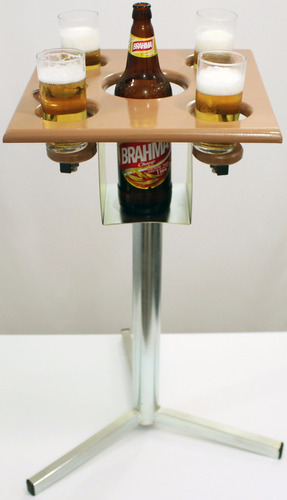 inteligente mesa cerveja bar lanchonete churrasco veja video