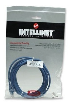intellinet cable patch cord utp cat 5e 3 m (gadroves)