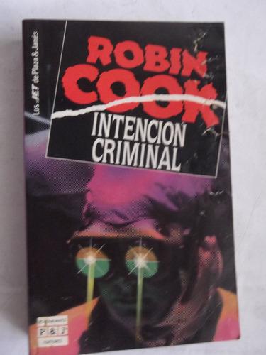intencion criminal robin cook bolsillo