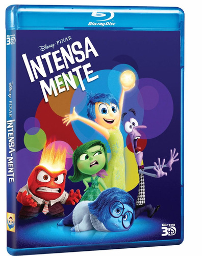 intensa-mente blu-ray 3d + 2d
