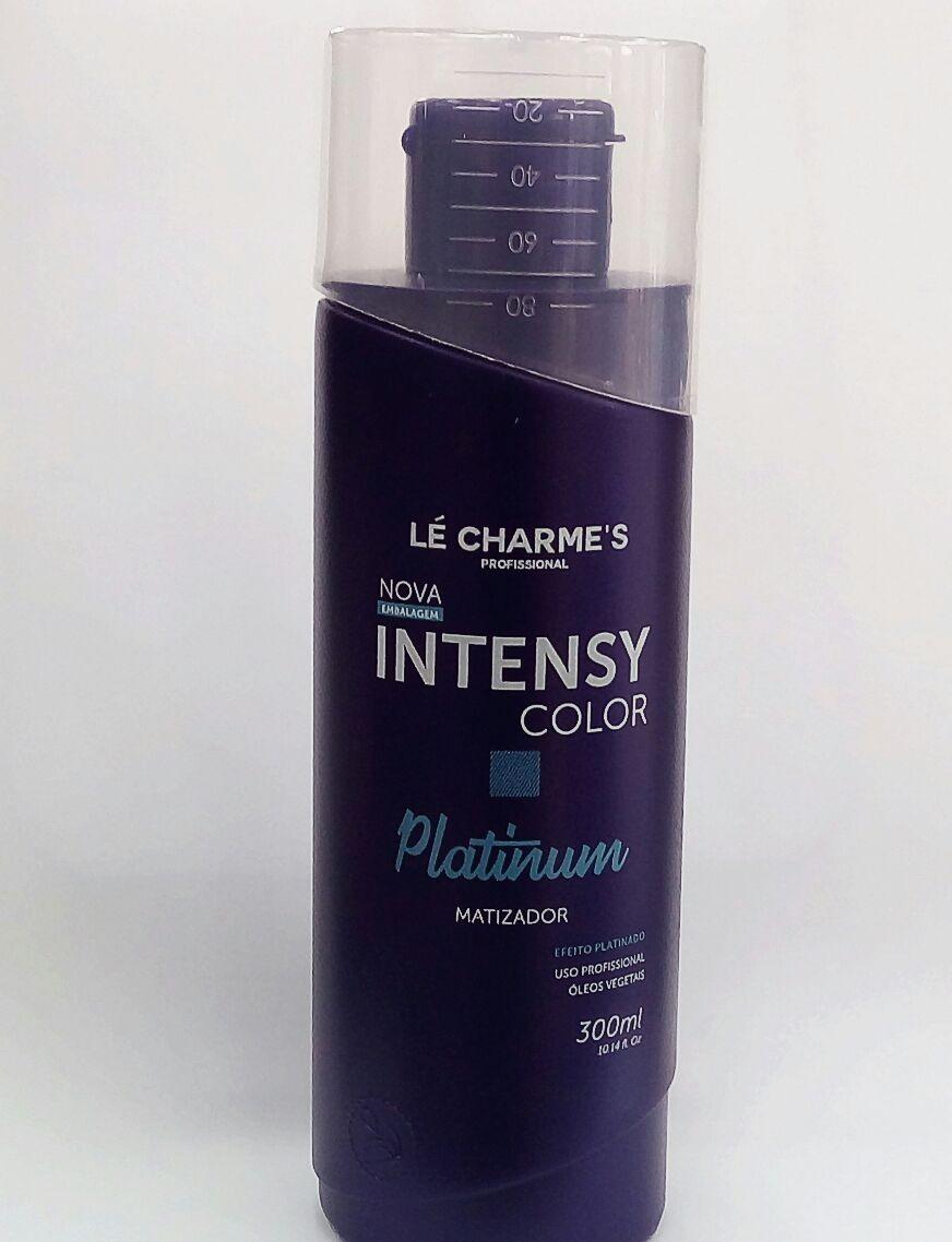 44ef730a0 Intensy Color Le Charmes Platinum Matizador 300ml #004 - R$ 52,90 em  Mercado Livre